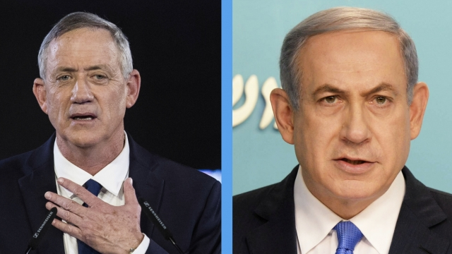 Politics - Benjamin Netanyahu, Benny Gantz Make It Tight In Israeli Elections