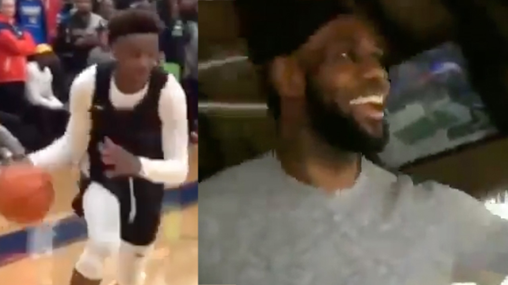 LeBron James' Son Pulls A Dad Move In Spectacular Chase-Down Block