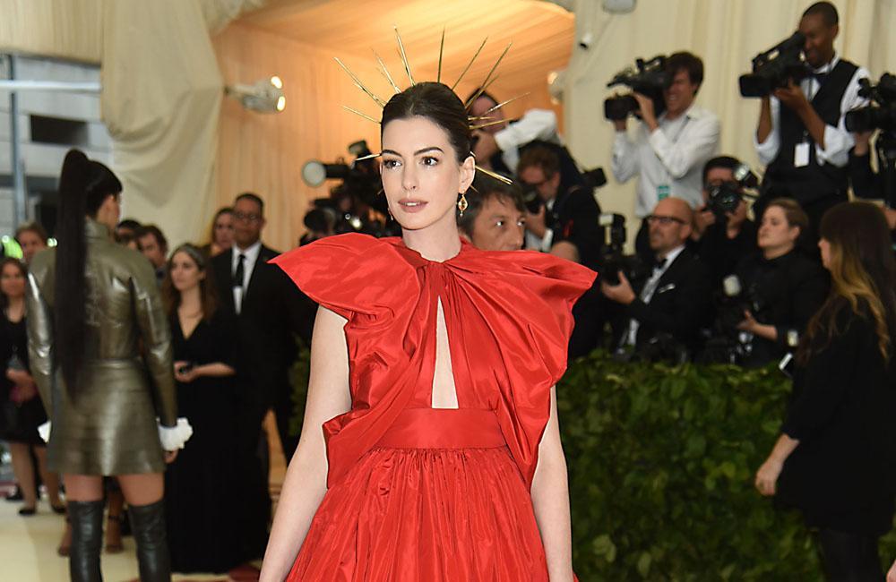 Anne Hathaway Reveals Why She's Not Drinking Until Her Son Is 18