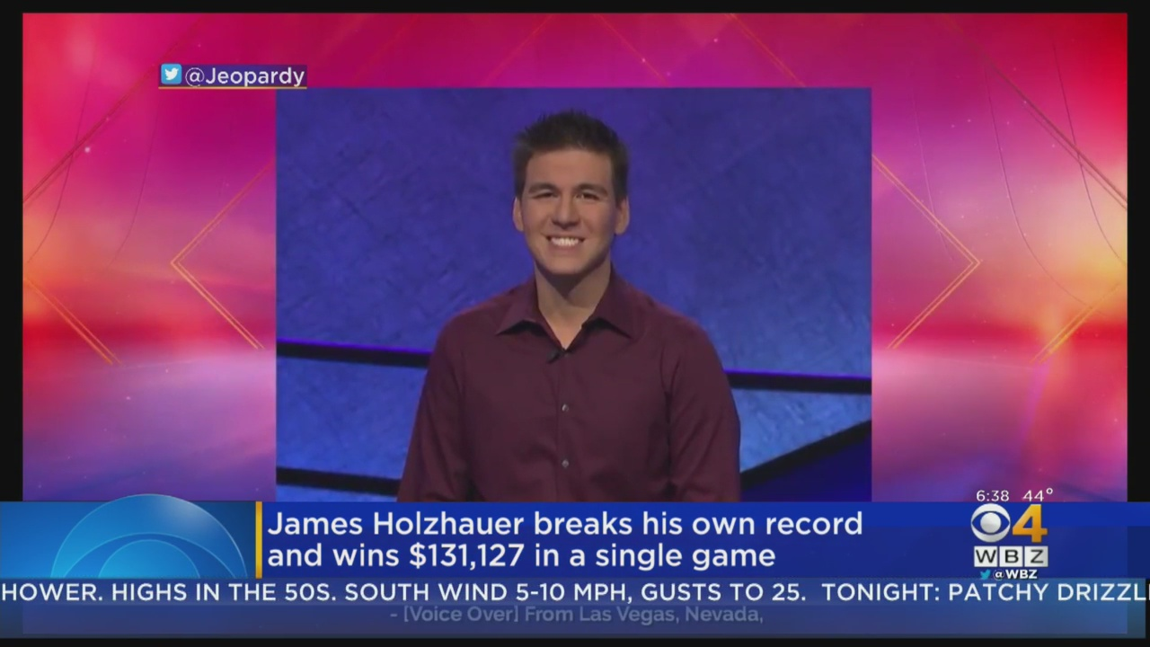 James Holzhauer Breaks Own Record On 'Jeopardy!' With 'Perfect Game'