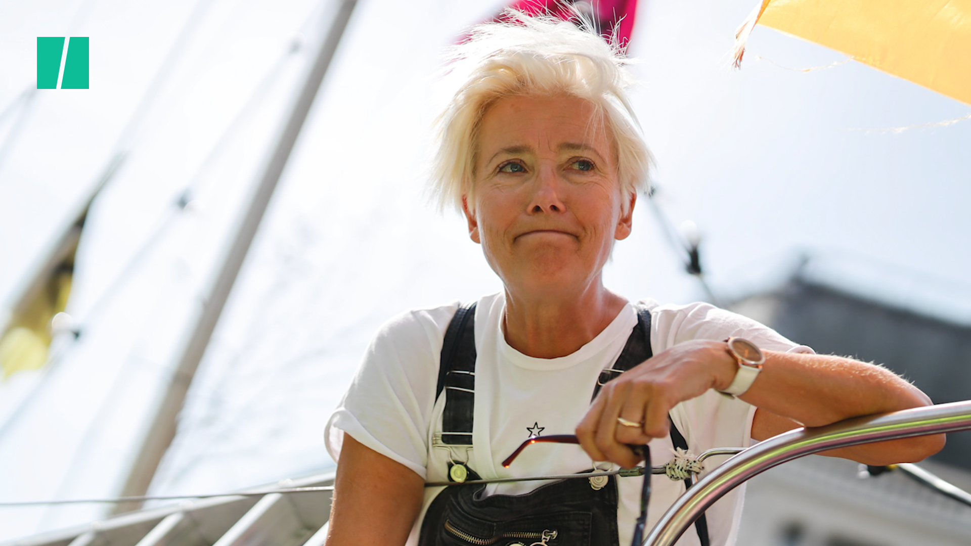Emma Thompson Joins Extinction Rebellion In Climate Change Protest