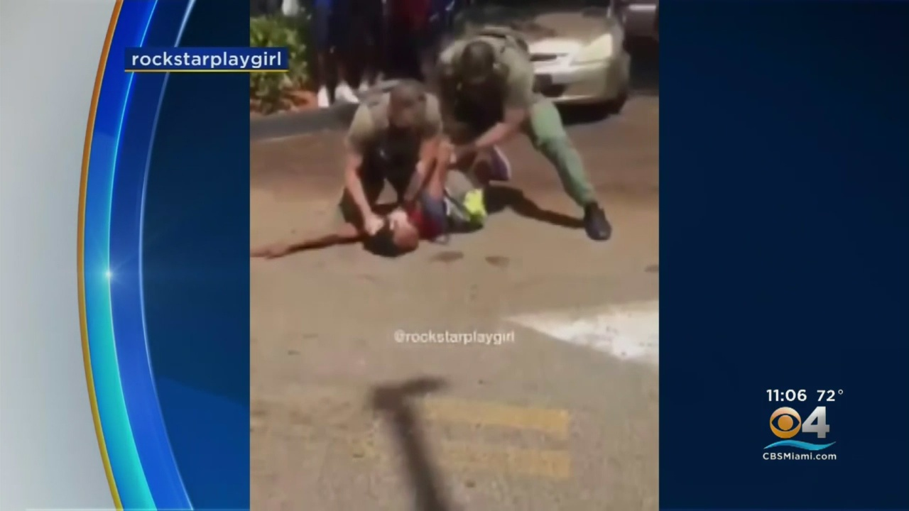 Deputy On Leave After Video Shows Officers Slamming Teen's Head, Punching Him