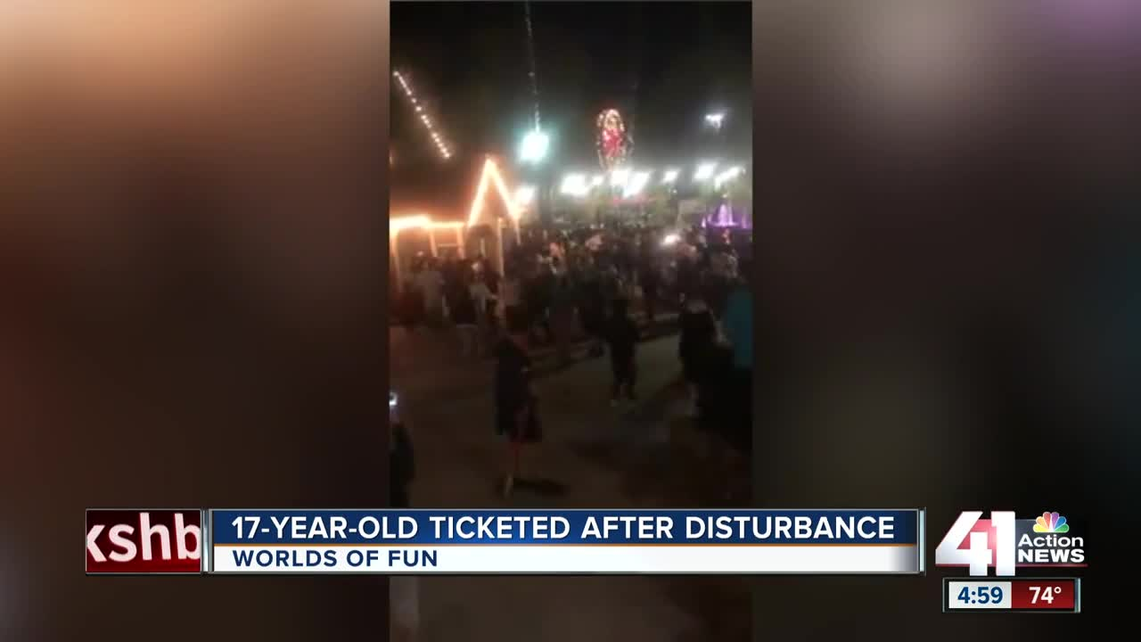 Brawl involving 300 teenagers breaks out at amusement park, right next to Camp Snoopy