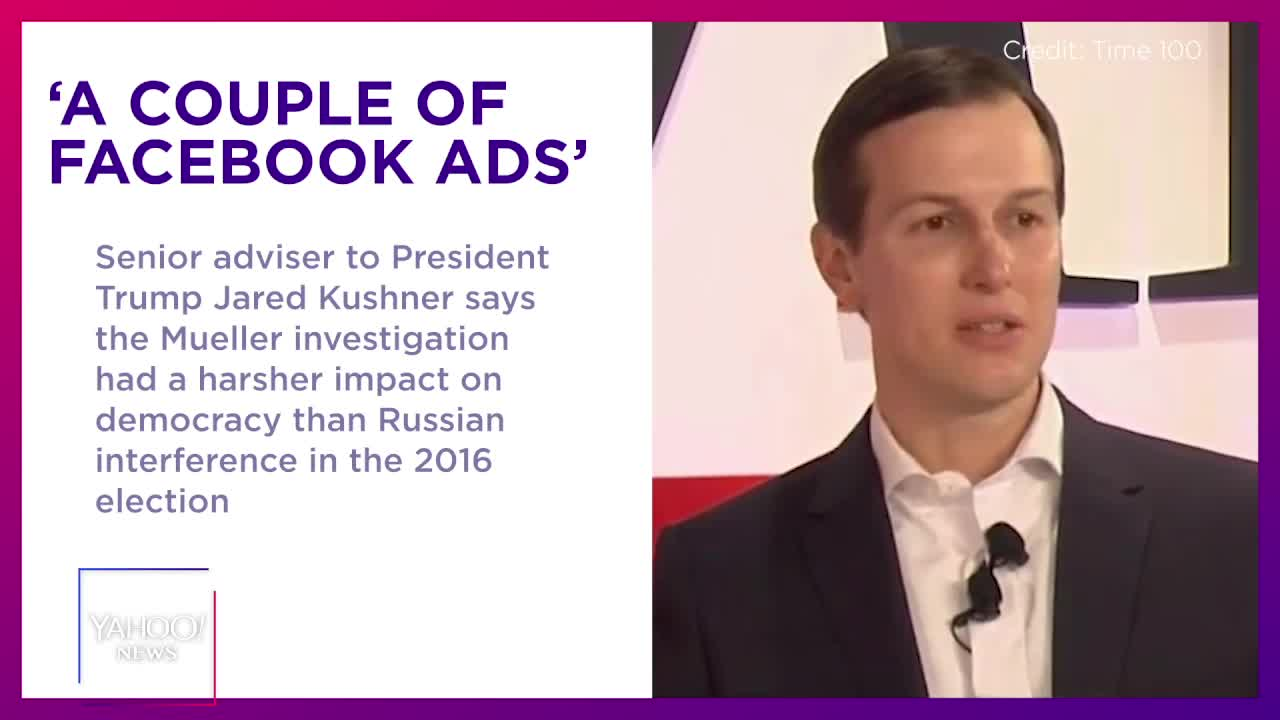 Kushner Claims Russian Interference In 2016 Election Was Not 'Impactful'