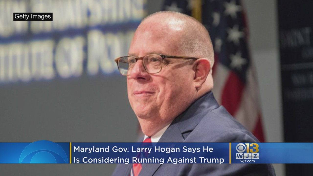 Maryland GOP Gov. Larry Hogan Giving 'Serious Consideration' To Challenging Trump
