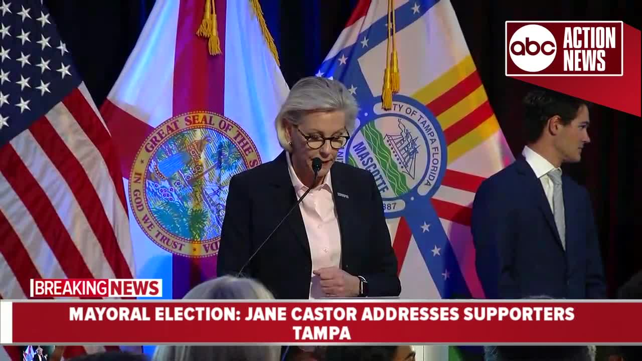 Jane Castor Wins Tampa Mayoral Race, Becoming City's First Openly Gay Leader