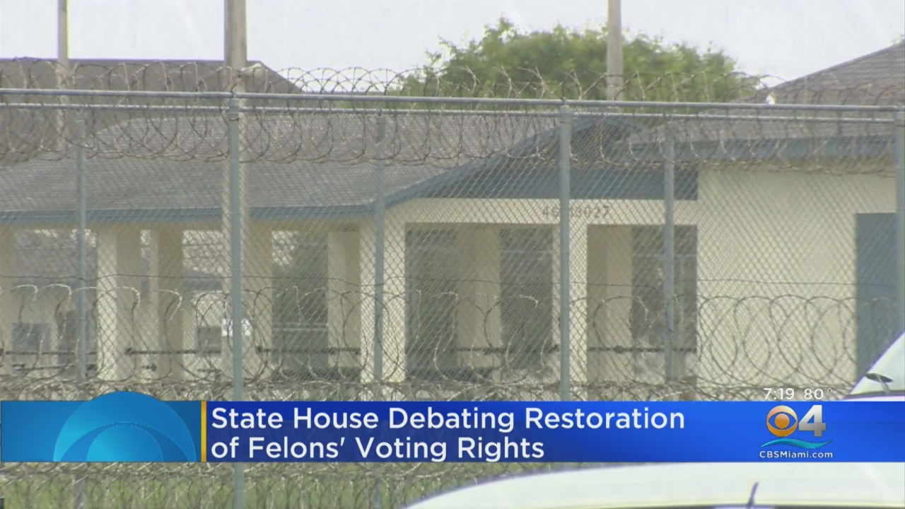 Florida House Approves Requiring People To Repay Criminal Fines, Fees Before They Can Vote