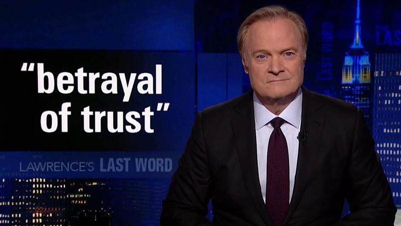 Lawrence O'Donnell Turns GOP Senator's Old Rant About Impeachment Against Him