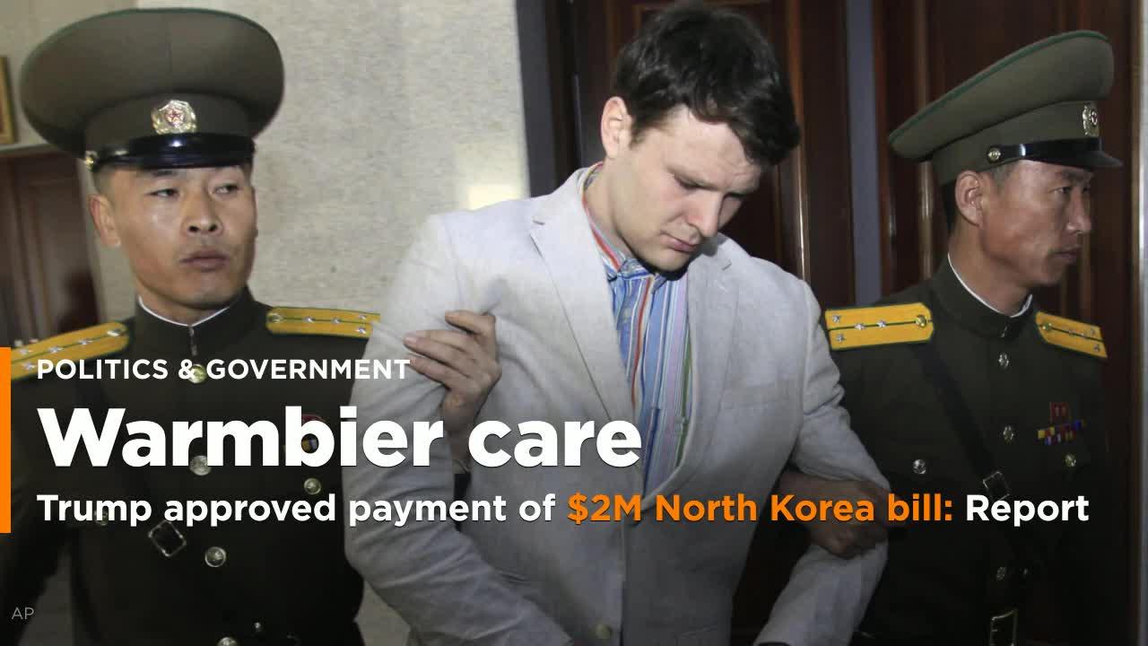 North Korea Handed U.S. $2 Million Bill Before Returning Otto Warmbier: Reports