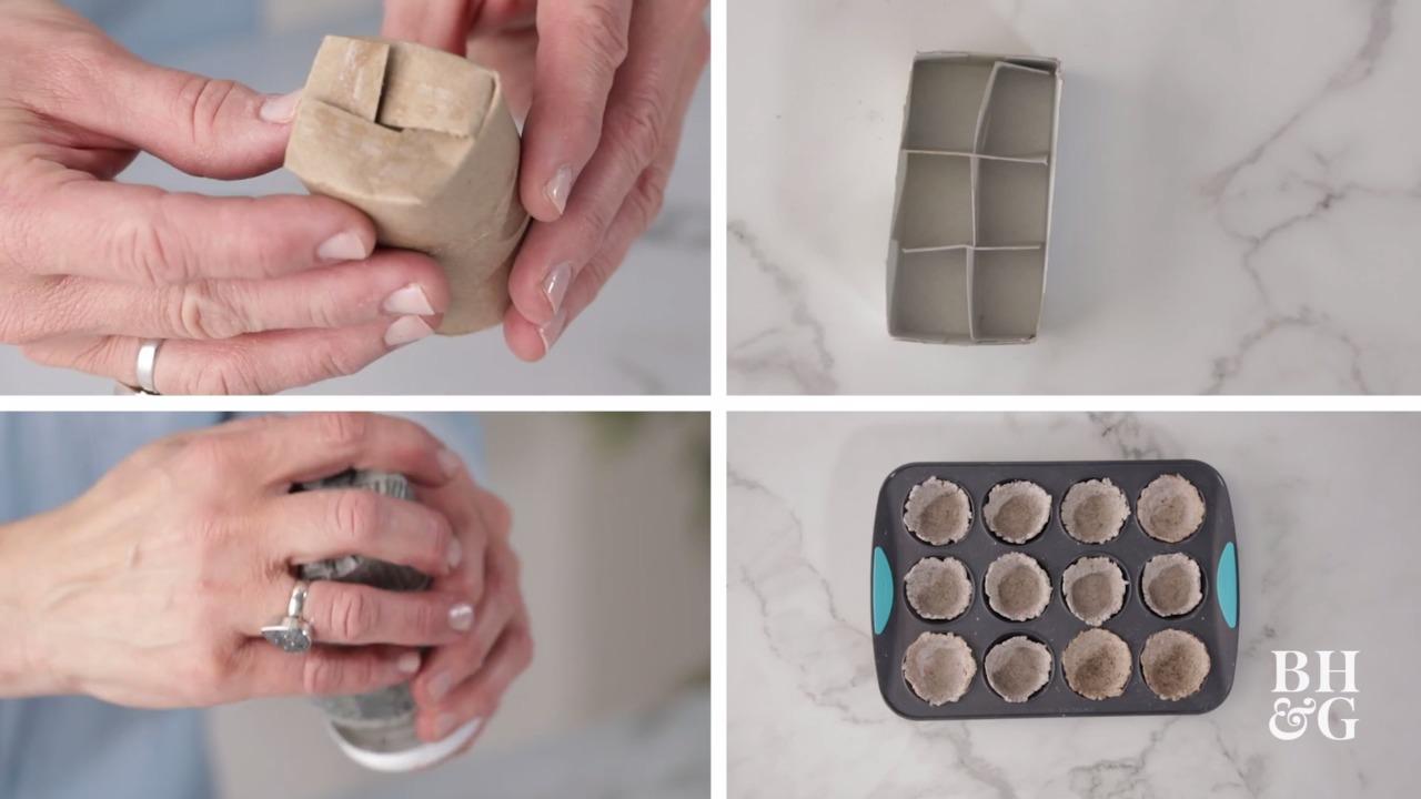 4 DIY Seed Starter Pots