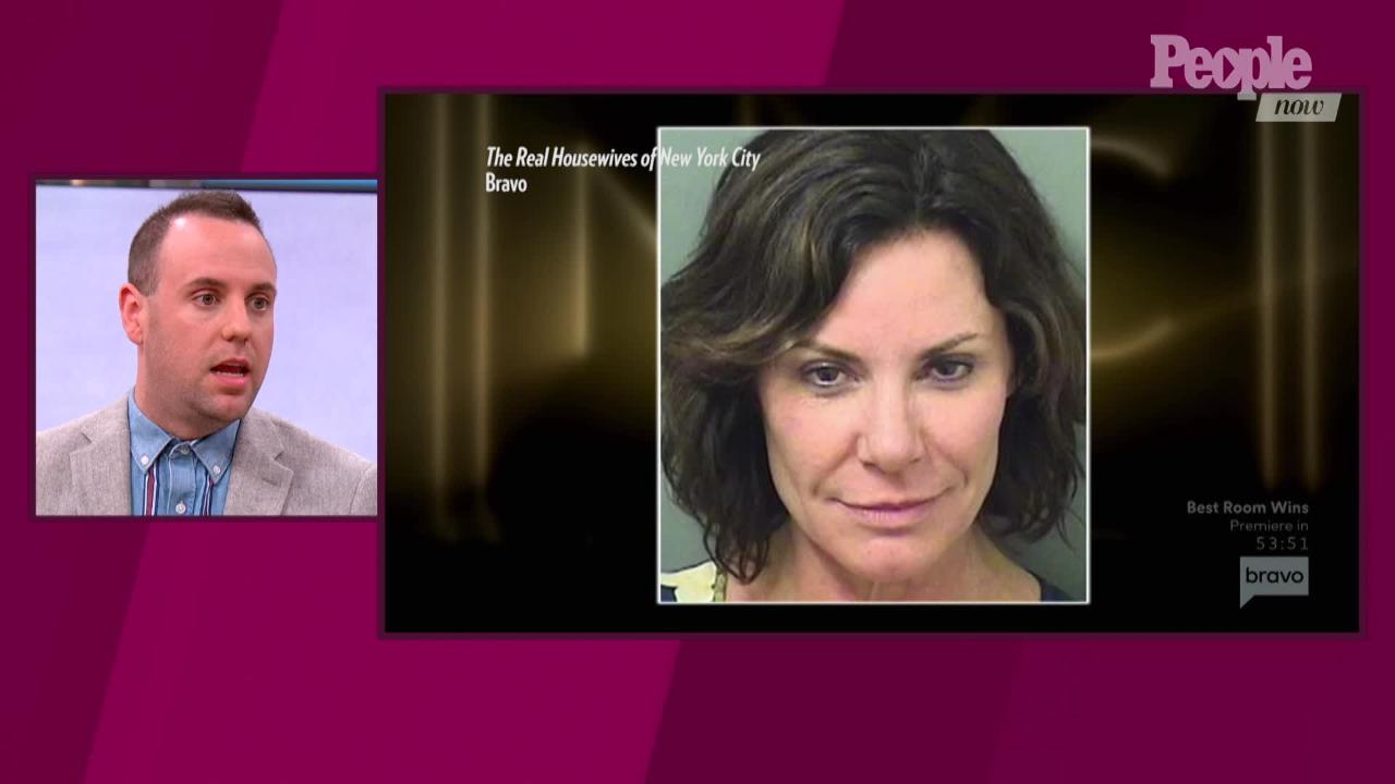 'RHONY': Luann de Lesseps ordered back into custody for violating probation