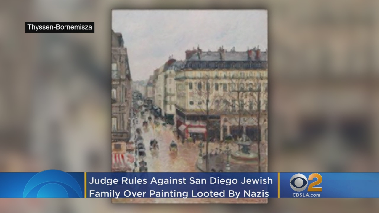 San Diego Jewish Family Trying To Recover Nazi-Looted Painting Faces Legal Setback