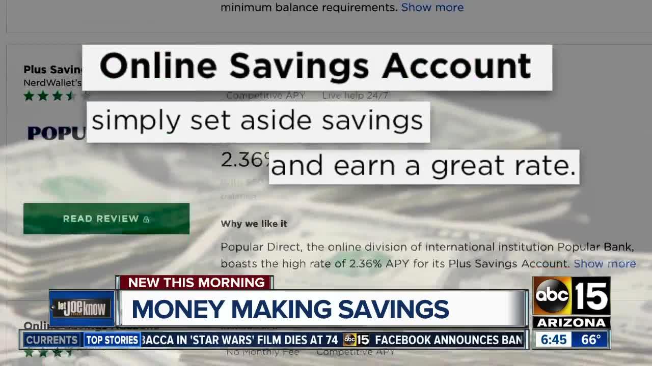13 High-Interest Savings Accounts That Don't Require A Huge Minimum Balance