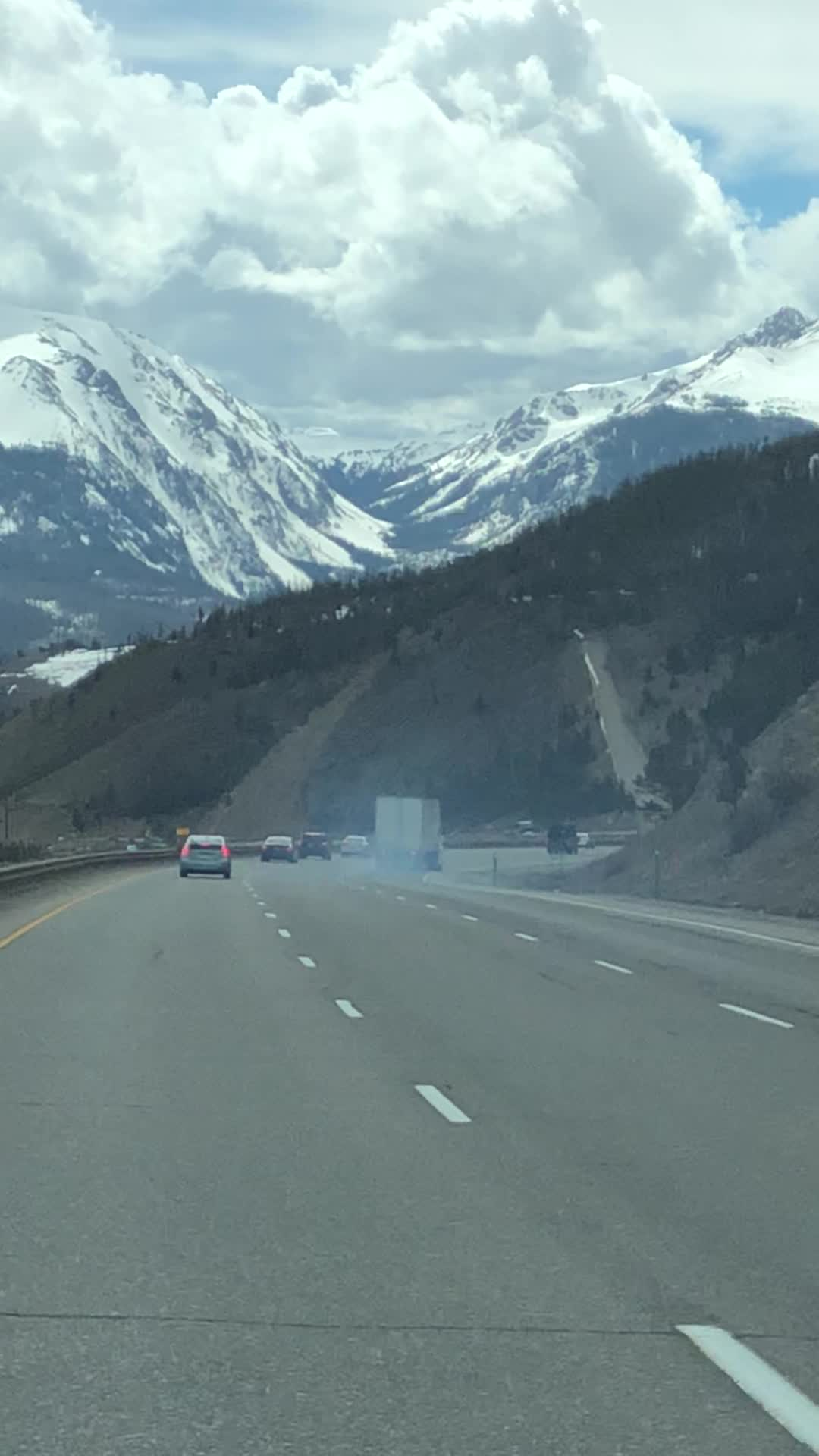 YIKES! Out-Of-Control Semi Hits A Runaway Truck Ramp Just In The Nick Of Time