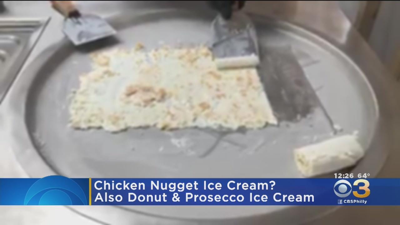 Irish company turns heads with chicken nugget ice cream