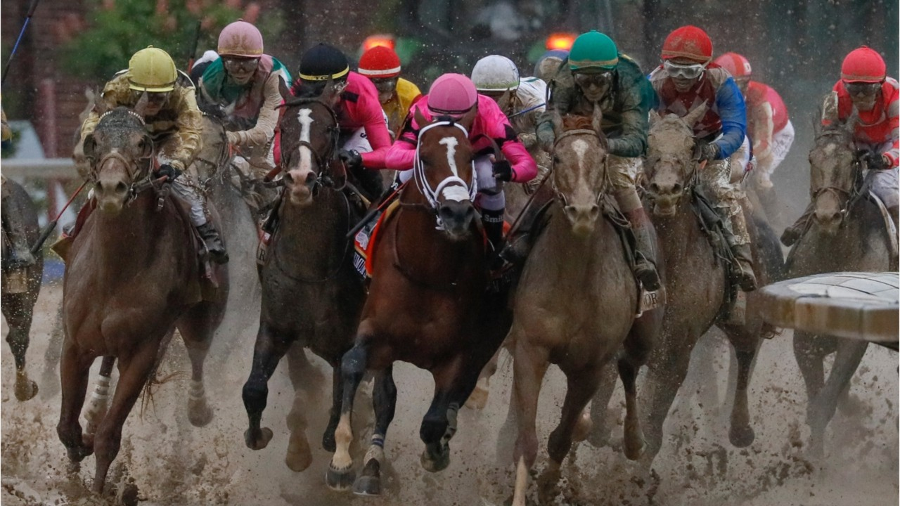 Maximum Security stunned in first race since Kentucky Derby