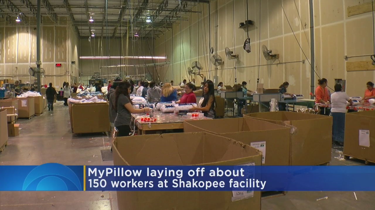 MyPillow Lays Off 150 Workers After Praising Trump's Tax Cuts, 'Booming Economy'