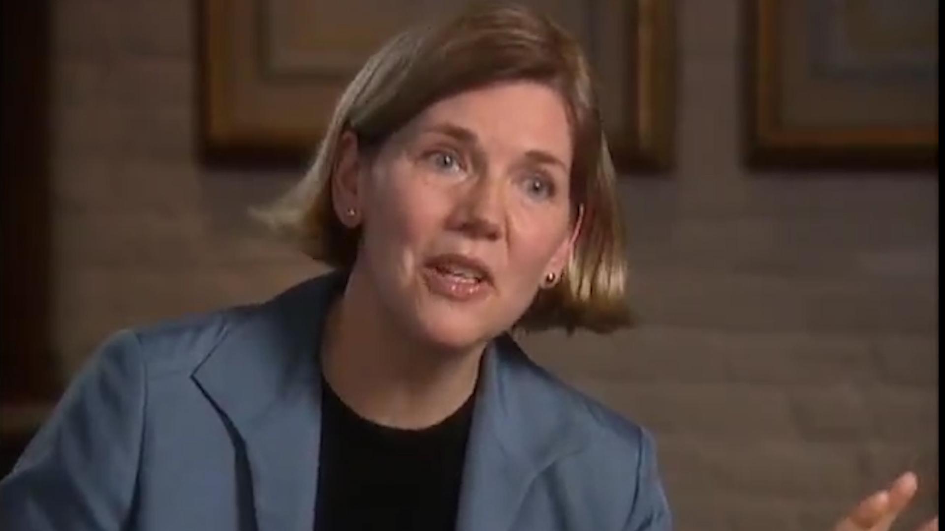 Elizabeth Warren Predicts Another Economic Downtown