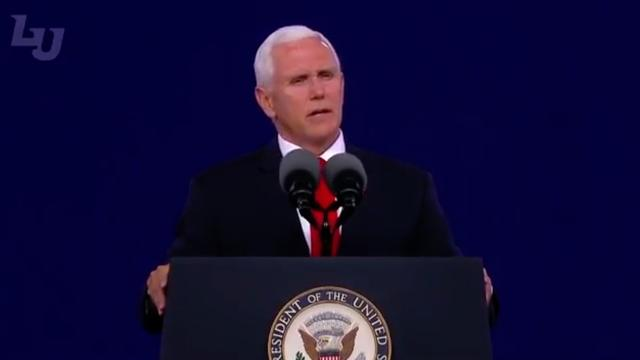 Pence Weighs In On Lawsuit Against Public Religious Display: 'The Bible Stays'