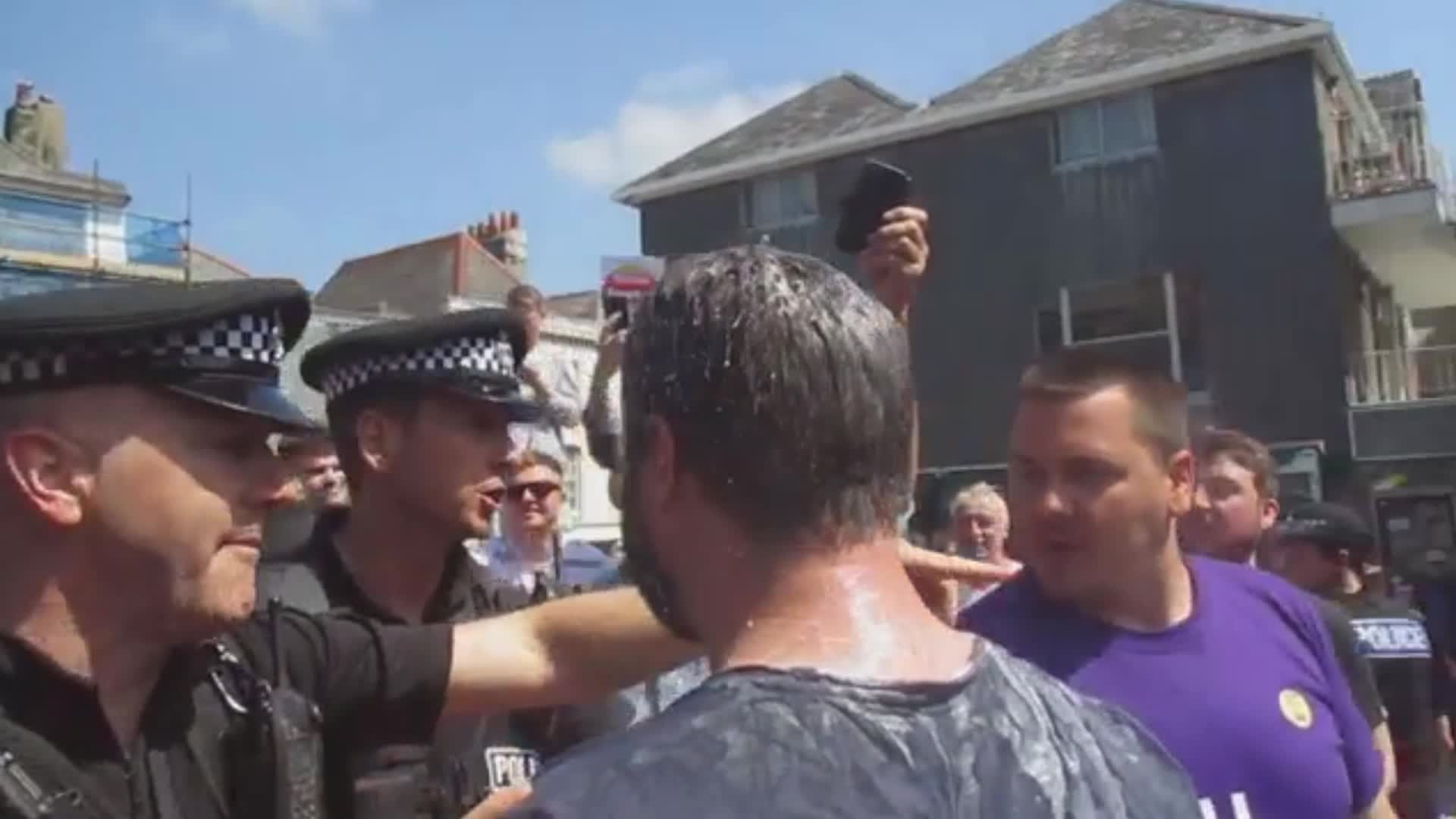 Ukip Candidate Carl Benjamin Has Fourth Milkshake Thrown At Him This Month