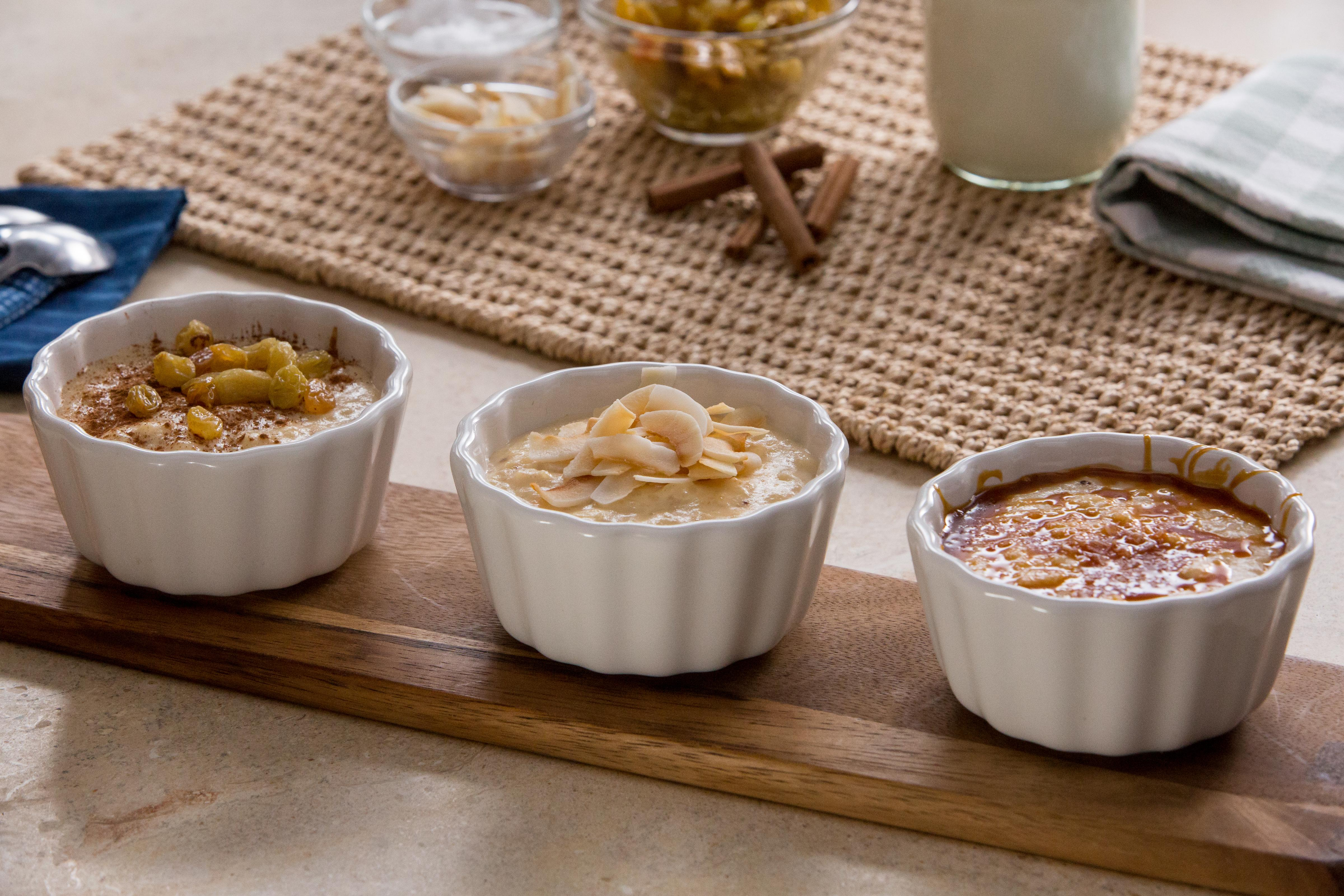 Try these 3 sweet twists on rice pudding