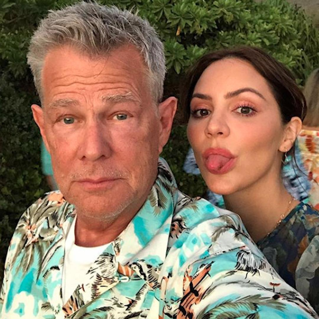 Katharine McPhee and David Foster send clear message to critics of their 34-year age difference