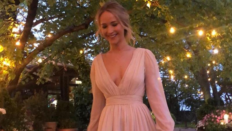 Jennifer Lawrence delivers summer 2019 style inspiration at 2019 Veuve Clicquot Polo Classic