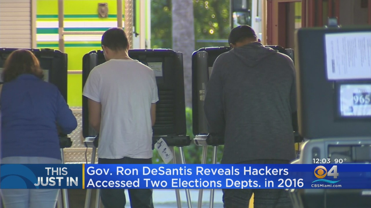Hackers Accessed Voting Systems In Two Florida Counties In 2016, Governor Says