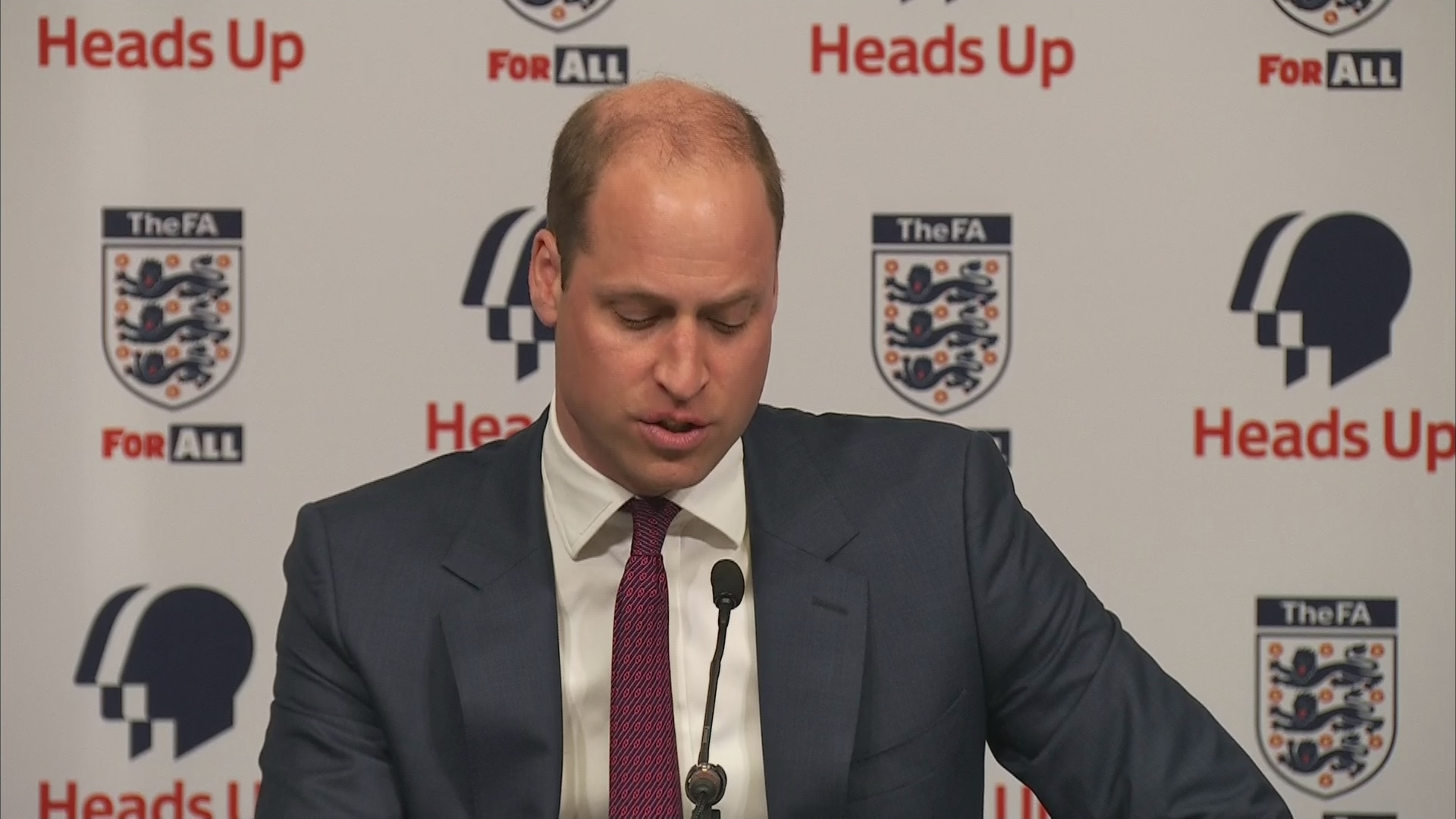 A Royal Team Talk: Prince William And Football Stars Get Real About Mental Health