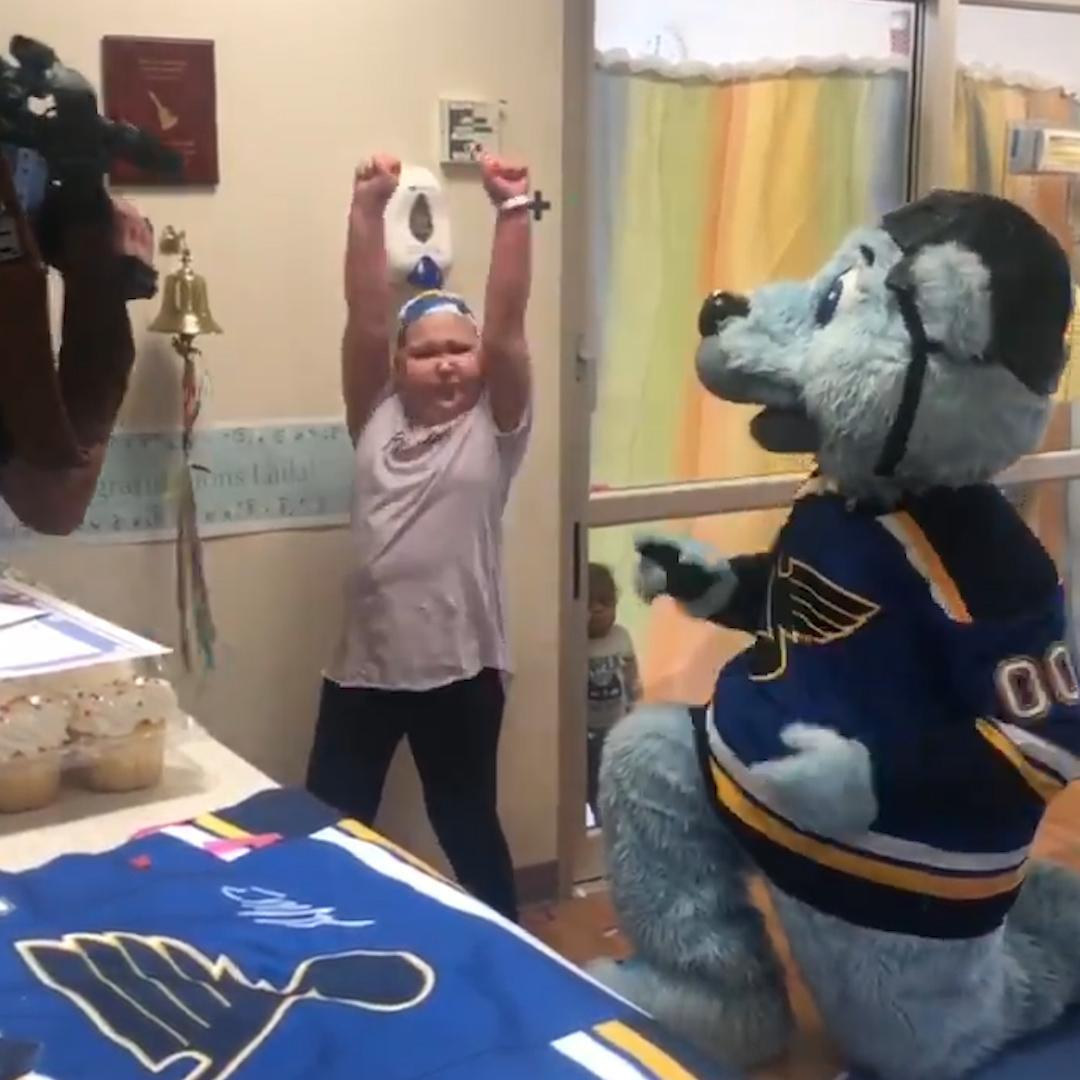 Young hockey fan with rare disease surprised with tickets