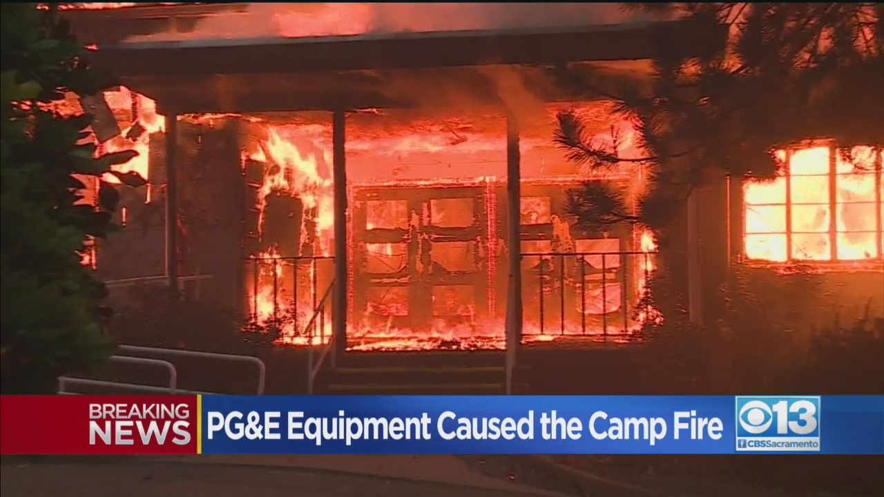Deadly Camp Fire Caused By PG&E's Power Lines, Officials Say