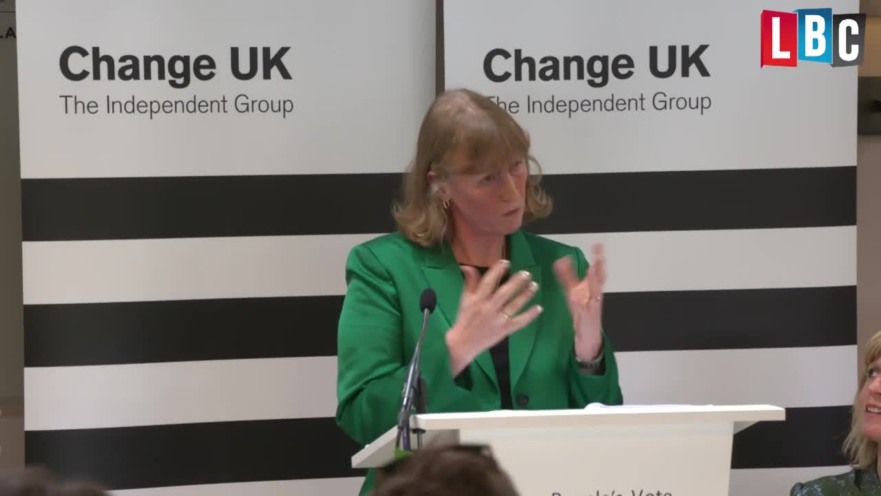 Change UK MP Joan Ryan Just Channelled David Brent And It's Really Painful To Watch