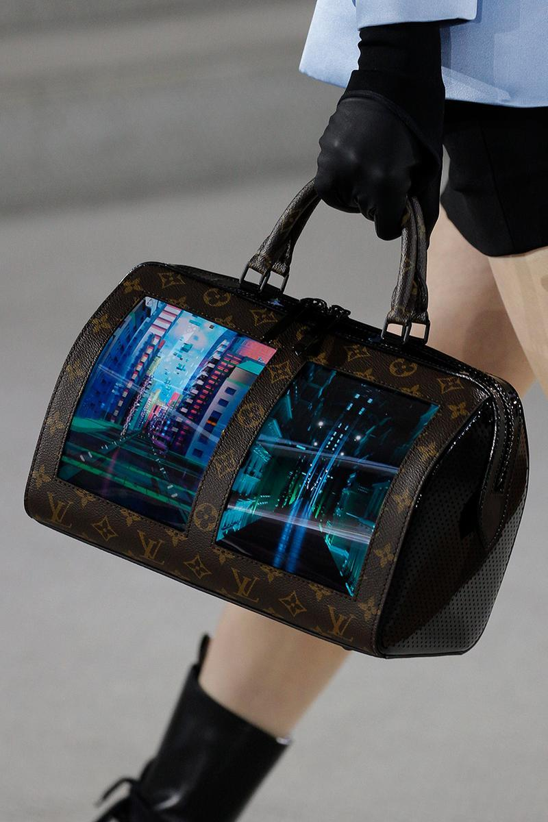 Louis Vuitton's latest prototype handbags feature internet browsers
