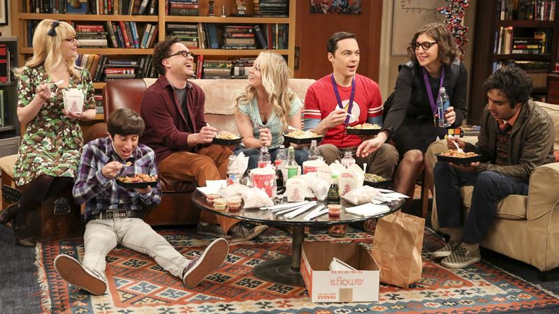 'Big Bang Theory' star admits to having sex in show's dressing room