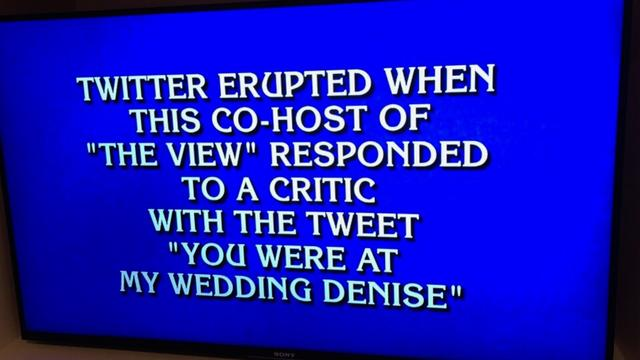 Meghan McCain's Infamous Twitter Clapback Now The Answer To A 'Jeopardy!' Question