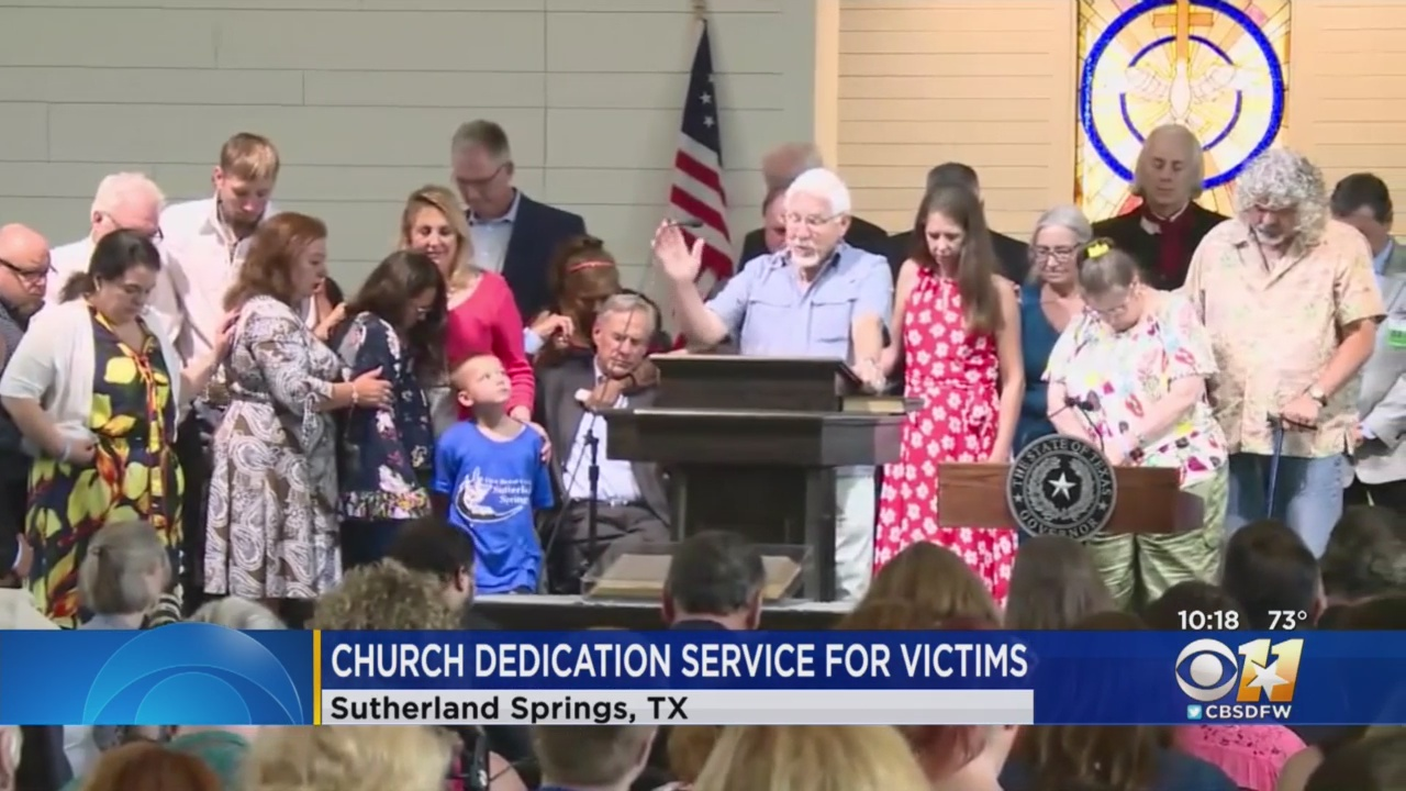 Sutherland Springs Opens New Sanctuary 18 Months After Shooting