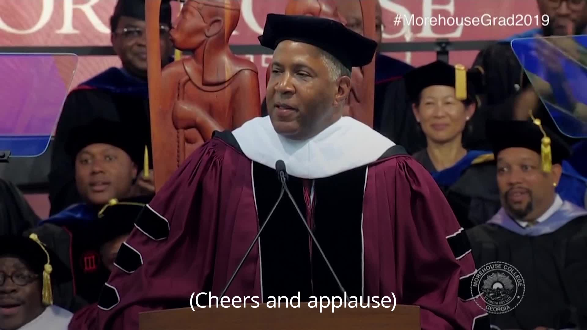 Billionaire Pledges To Pay Off Students' Debts During University Commencement Speech
