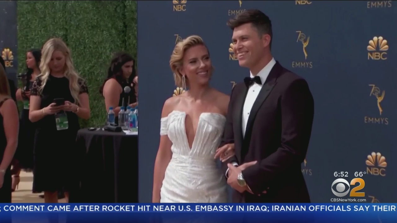 Colin Jost: I was 'scared of marriage' before Scarlett Johansson proposal