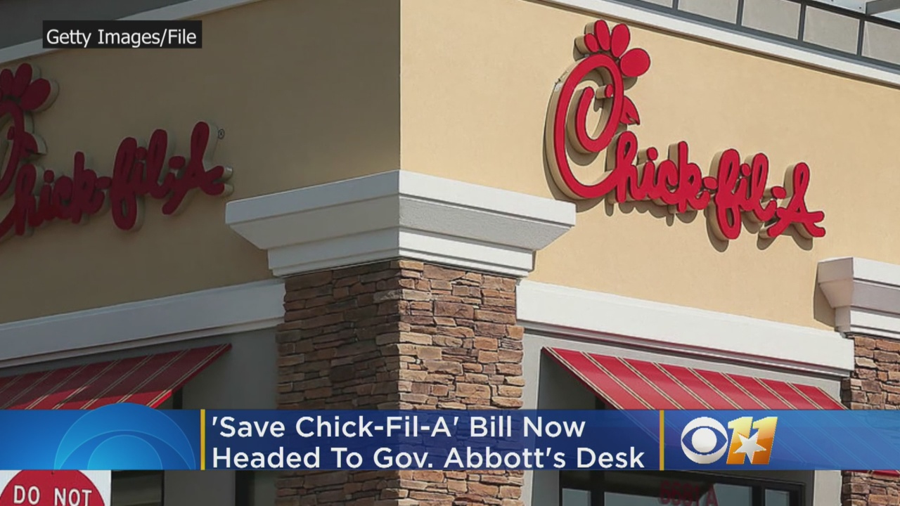 'Save Chick-fil-A' Religious Freedom Bill Advances In Texas Legislature