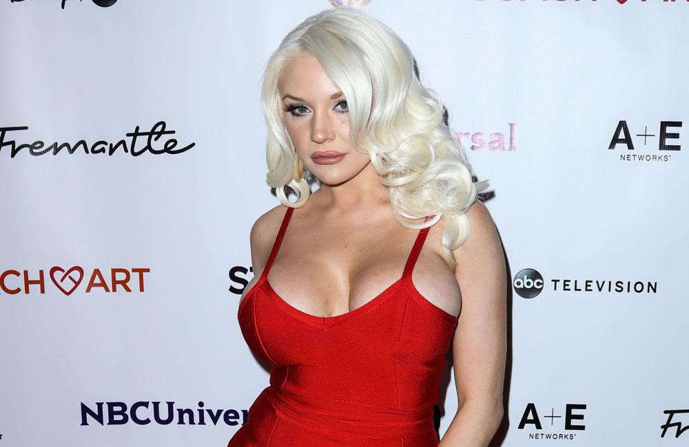 Courtney Stodden's mother, Krista, joins her on the red carpet for reality show premiere