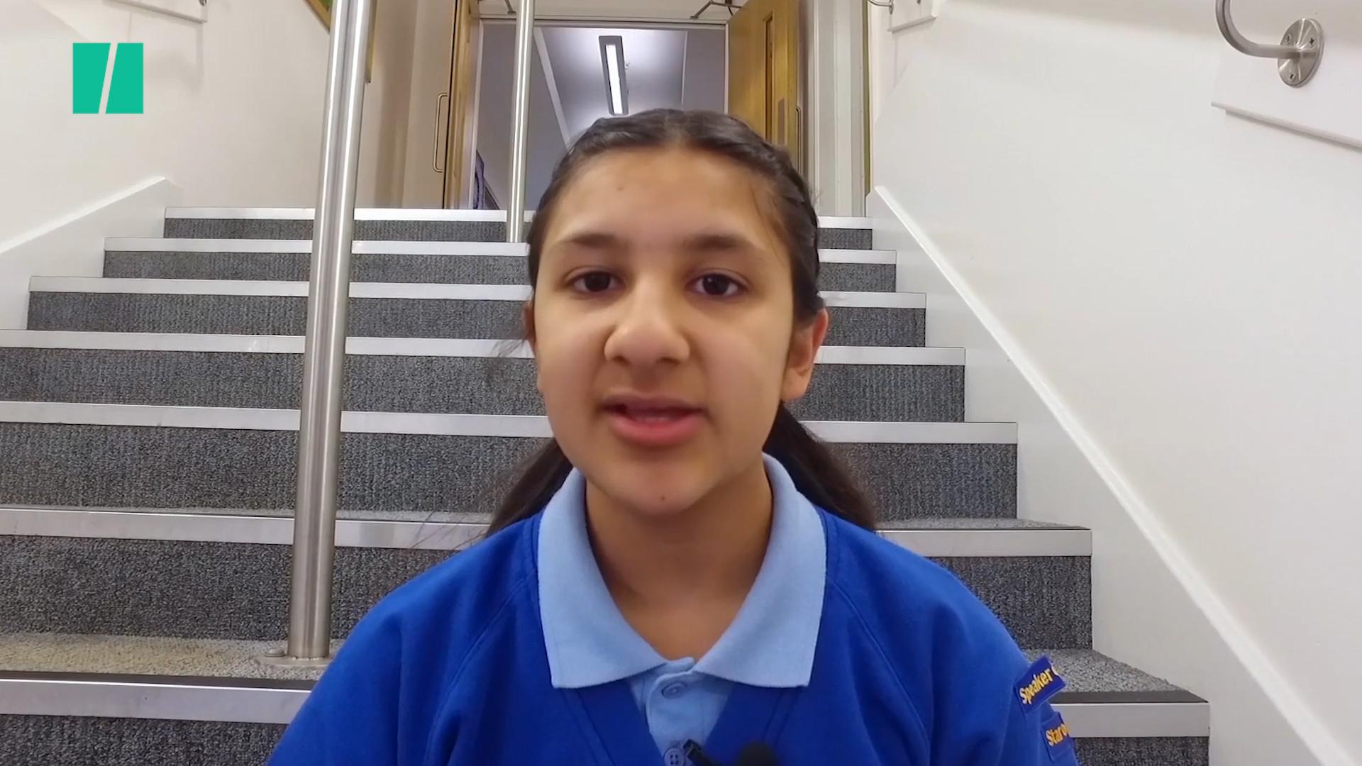 Muslim Girl Wins Competition With Speech About Manchester Arena Bombing