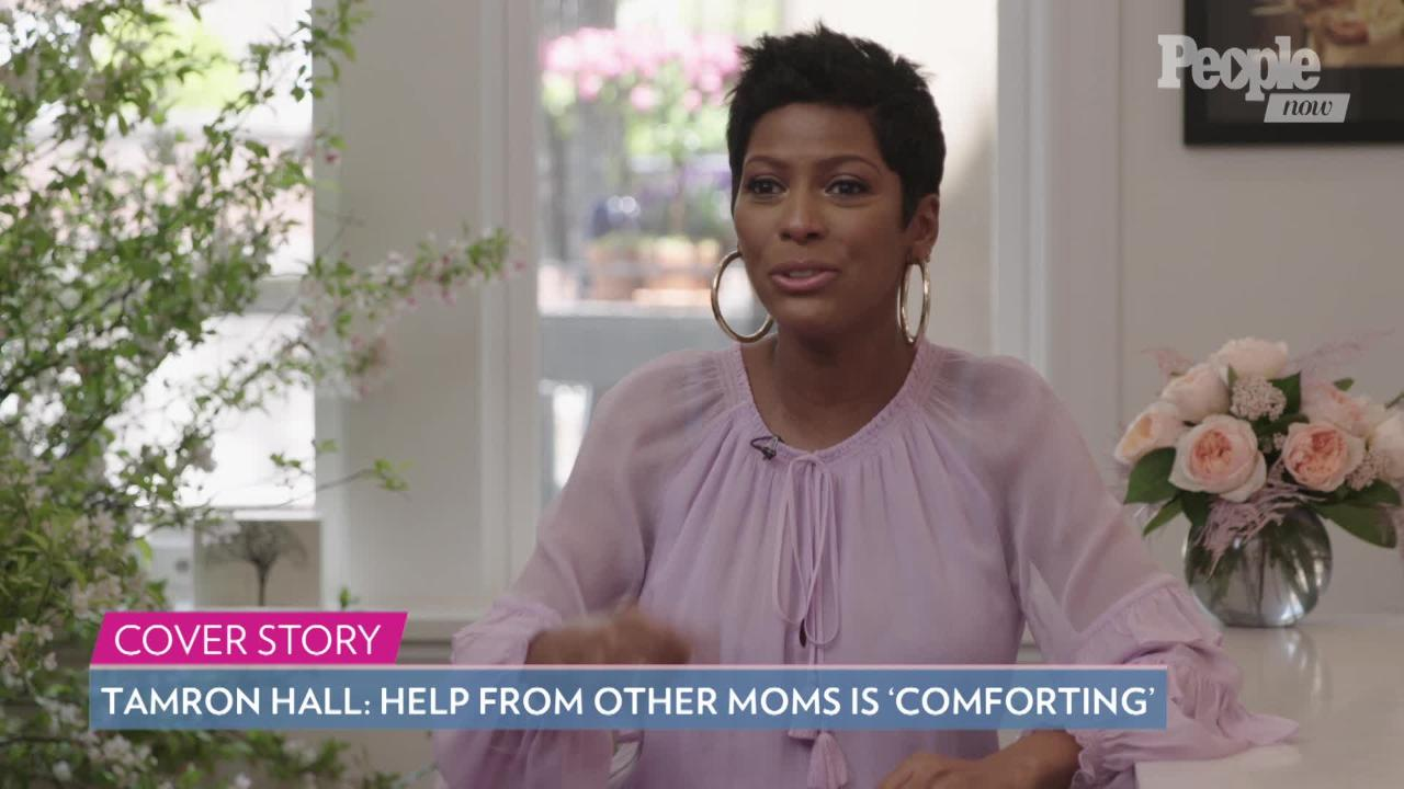Tamron Hall Says She Kept Her Pregnancy At 48 A Secret Because She Was 'Terrified'