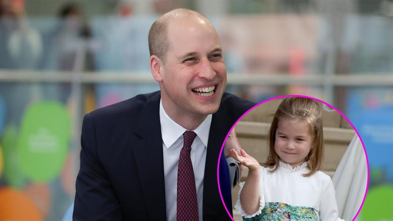 The sweet nickname Prince William calls his daughter, Princess Charlotte