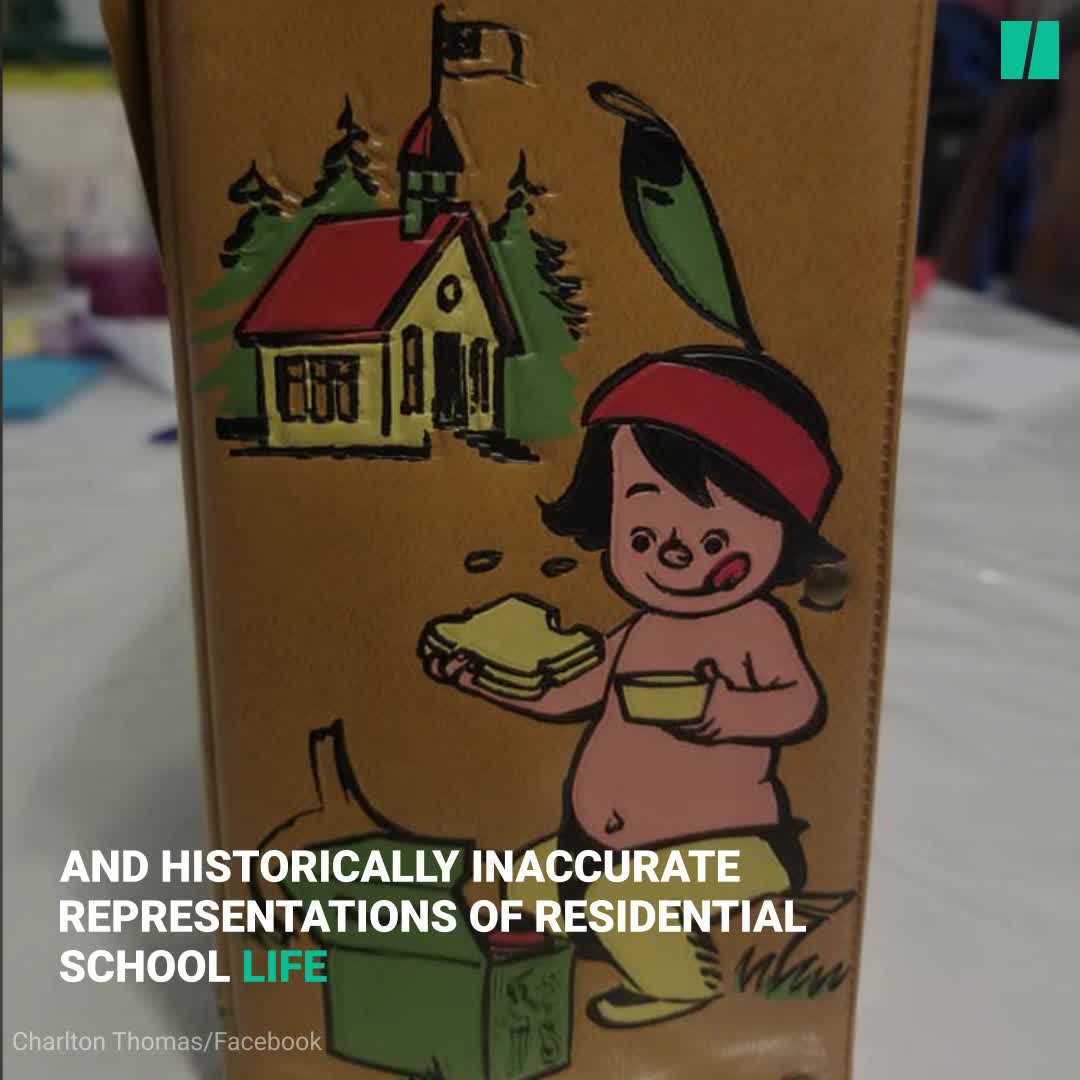 Child's Lunchbox Is A Horrific Reminder Of Canada's Residential Schools