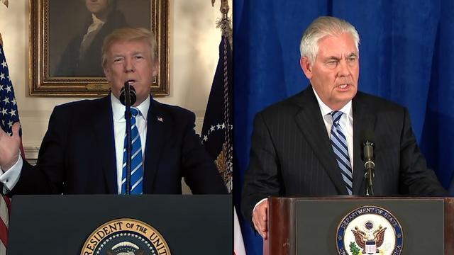 Trump Fumes Over Rex Tillerson's Claim That Putin Out-Prepared Him