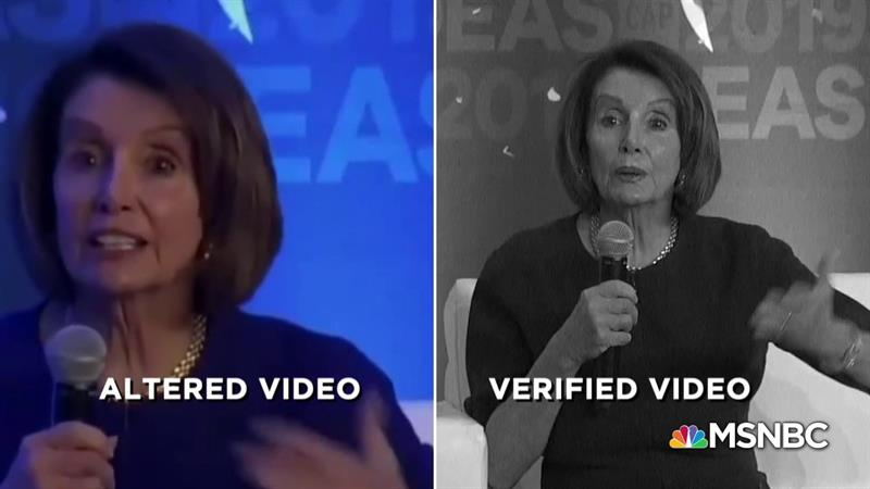 Hillary Clinton Rips Trump For Spreading 'Sexist Trash' With Nancy Pelosi Smear