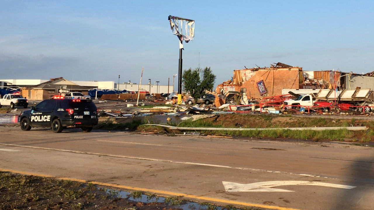 National News - At Least Two Dead After Violent Tornado Touches Down in Oklahoma