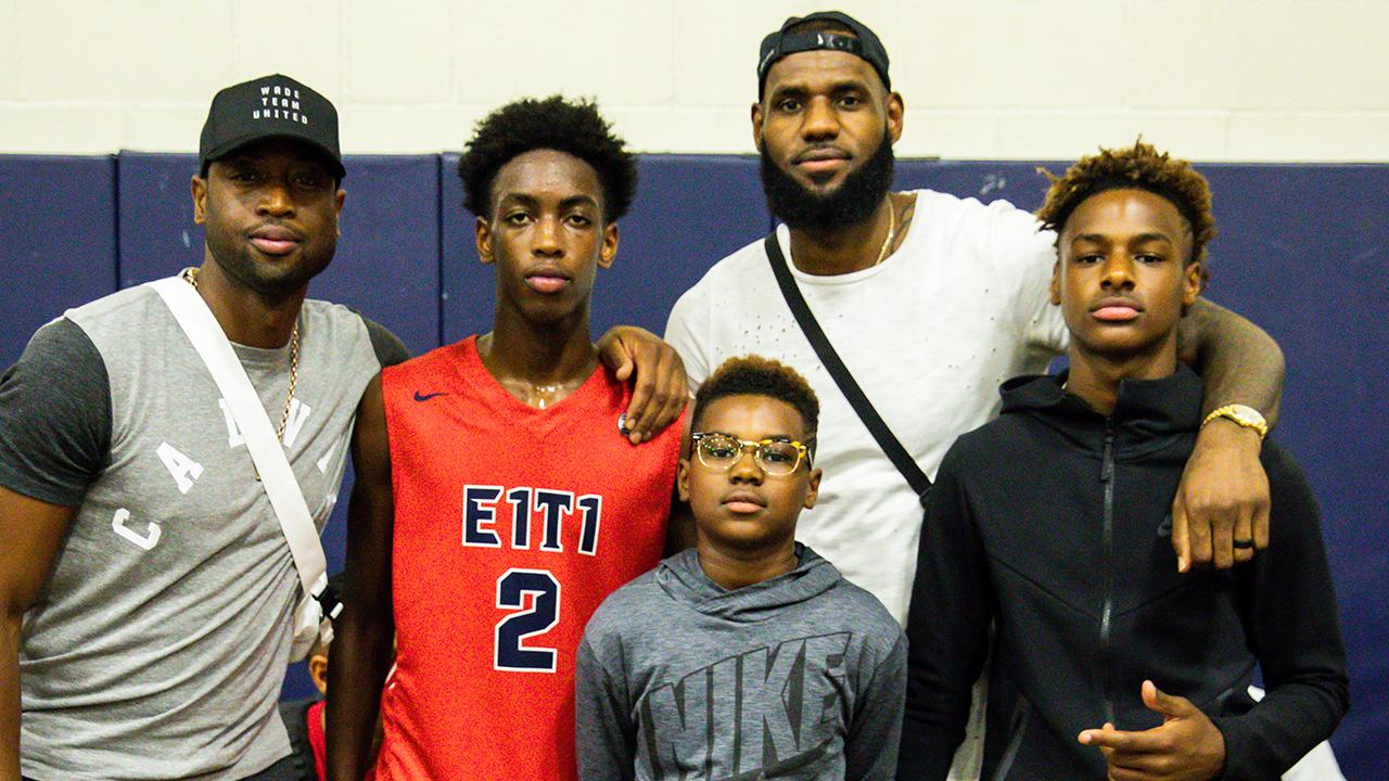 LeBron James Jr. Delivers Dad-Like Monster Dunk For Father's Day