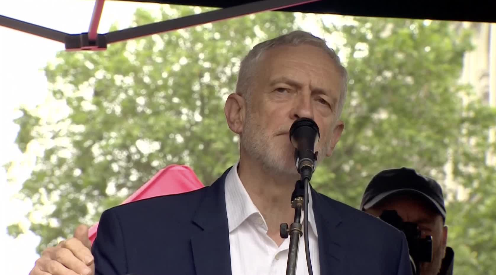 Jeremy Corbyn To Donald Trump: 'We Will Defend Our NHS'