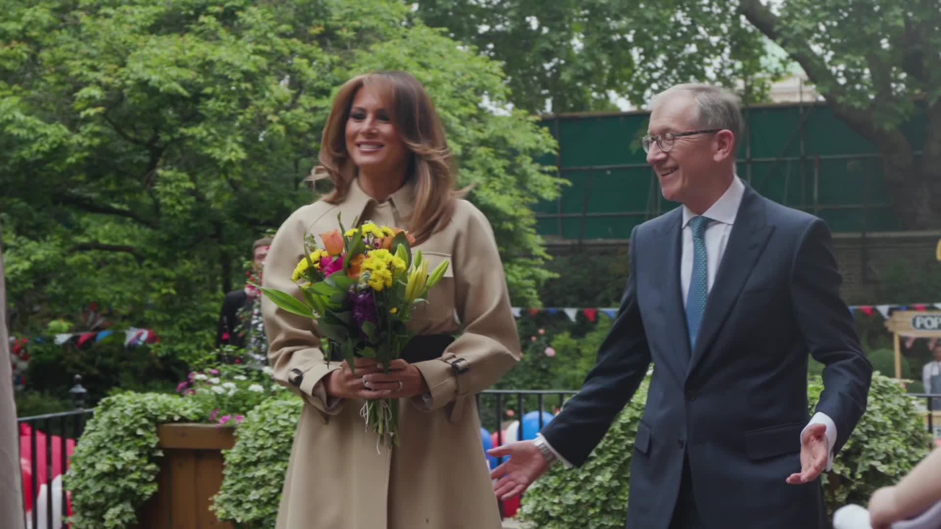 First Lady wears The Row for D-Day commemoration
